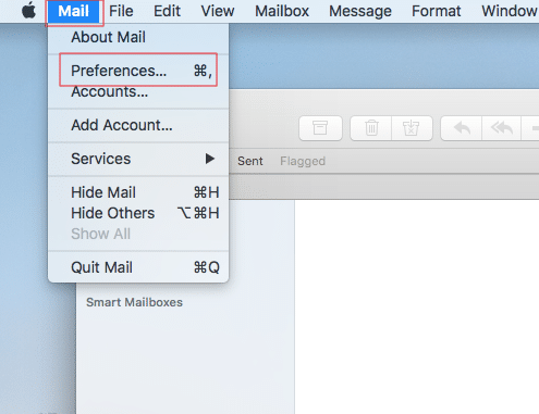 IMAP for Apple Mail -